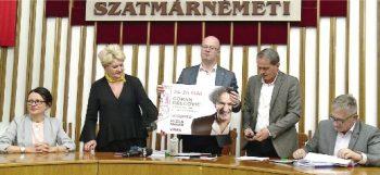 Primarul a sustinut o conferinta pe tema bugetului si Zilelor Orasului