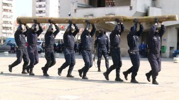 Jandarmii sătmăreni au  pregătit diverse exerciţii demonstrative