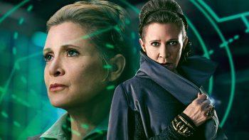 Carrie Fisher în universul Star Wars