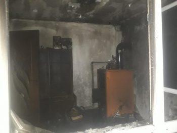 Casa incendiata Dobra
