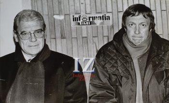 Informaţia Zilei a fost lângă antrenorii Emerich Jenei (Steaua) şi Gabi Both (Olimpia) în 28 noiembrie 1998