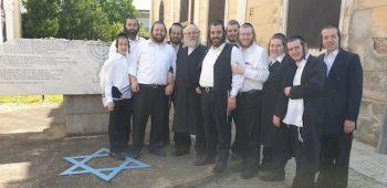 Adepţii lui Joel Teitelbaum au venit să vadă locul de origine al primului rabin ultra-ortodox