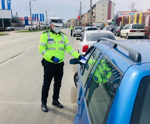 Control politie Satu Mare