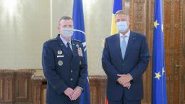 Preşedintele Klaus Iohannis, întrevederel cu generalul Tod D. Wolters