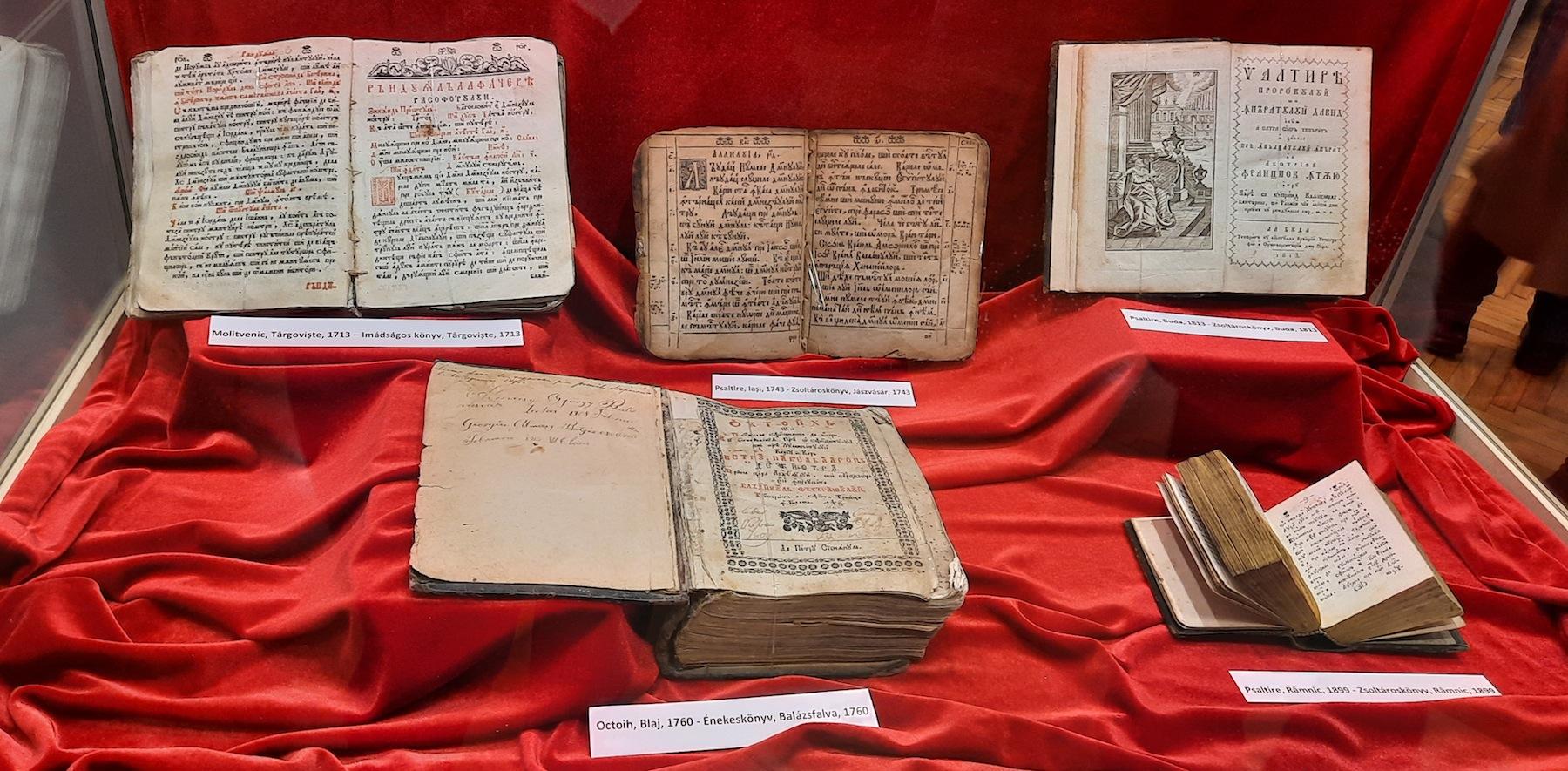 Carte veche din patrimoniul Muzeului Judetean