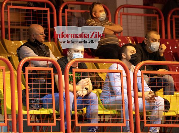 Primarul Gabor Kereskenyi a privit din tribună cum echipa a pierdut sâmbătă meciul cu Sepsi