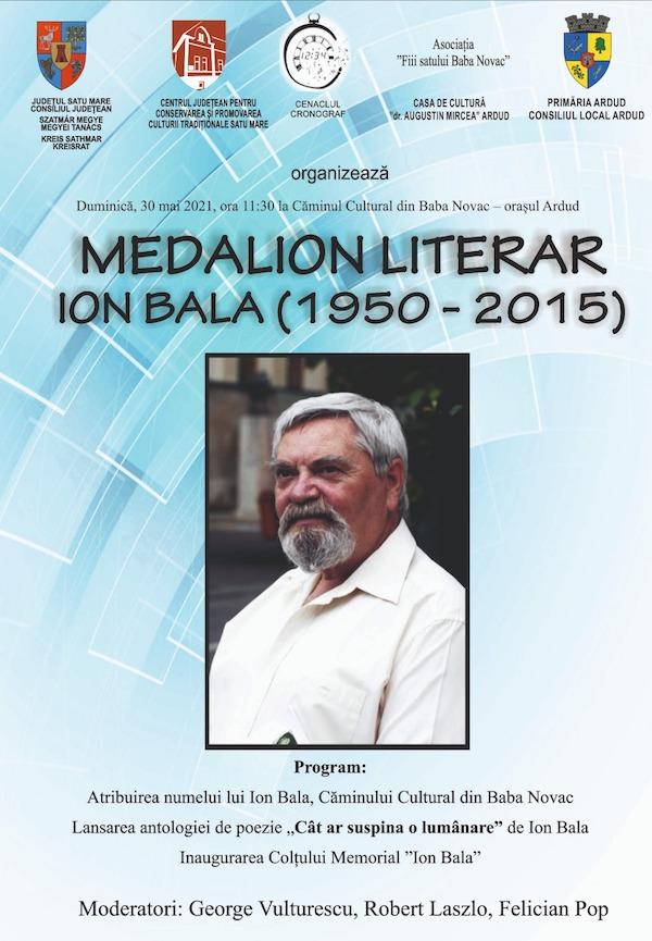 medalion literar ION BALA