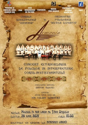 Concert extraordinar la Muzeul in Aer Liber al Țării Oașulu