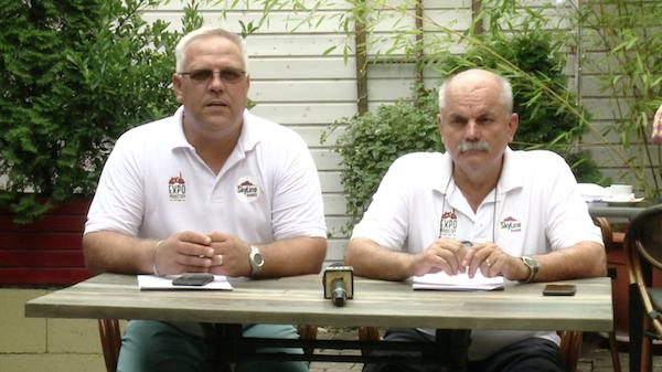 La conferinţa de presă de luni au vorbit despre eveniment Bura-Maksay Ştefan-Petru  şi Tiberiu Markos