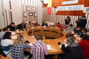 Conferinta de presa al primarului Iuliu Ilyes